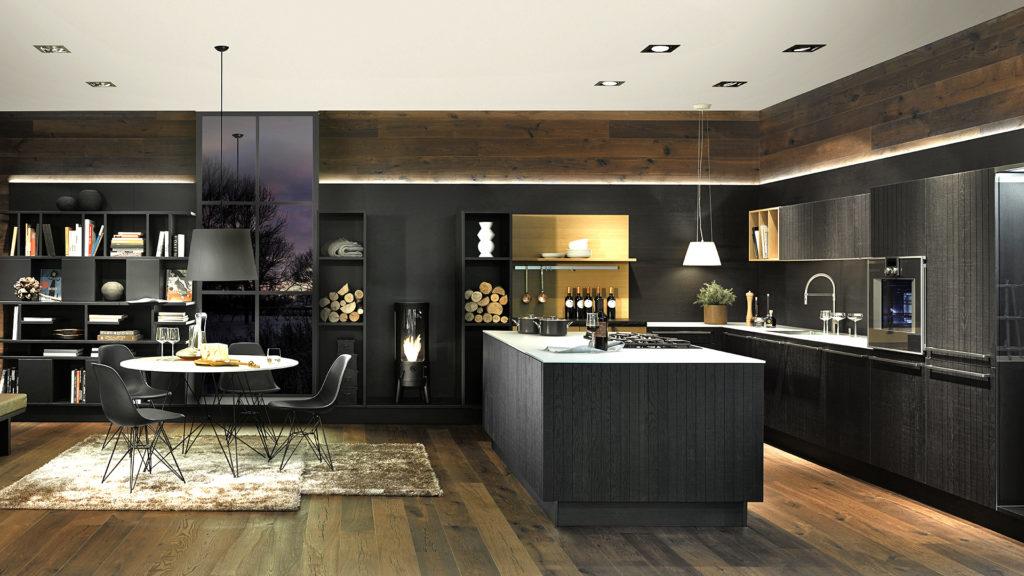 Cuisine style chalet Neo Chalet - Cuisine personnalisée | Elton