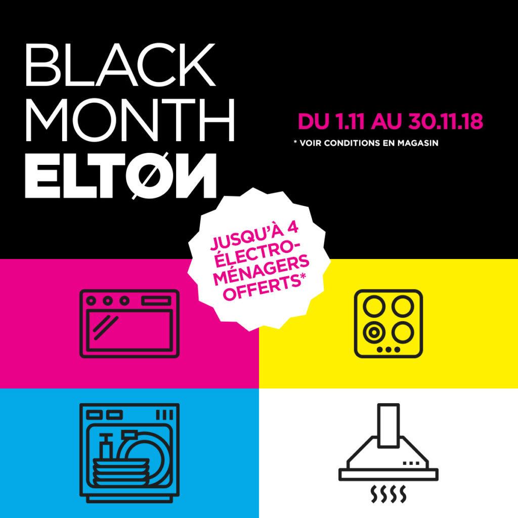 elton black month promo